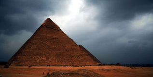 Khufla Pyramid Royalty Free Stock Images