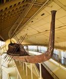 Khufu ship. In Giza plateau, Egypt Stock Images