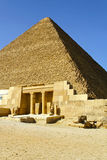 khufupyramide Arkivbild