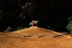 Khuha Kharuehat paviljong, Phraya Nakhon grotta, Khao Sam Roi Yot National Park, Thailand fotografering för bildbyråer