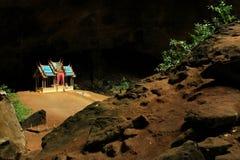 Khuha Kharuehat paviljong, Phraya Nakhon grotta, Khao Sam Roi Yot National Park, Thailand arkivfoton
