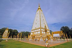 Khuhasawan mått Ubon Ratchathani Thailand Arkivfoto