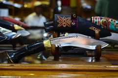 Khukuri Royalty-vrije Stock Fotografie