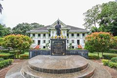 Khum Jao Luang,帕府,泰国 库存照片