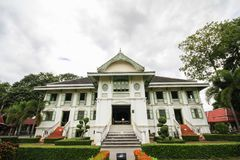 Khum Jao Luang, Phrae, Thailand. Beautiful and famous building at Phrae, Thailand stock image