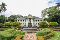 Khum Jao Luang, Phrae, Thailand. Beautiful and famous building at Phrae, Thailand stock photos