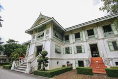 Khum Jao Luang, Phrae, Thailand. Beautiful and famous landmark at Phrae, Thailand Stock Photo