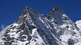 Khumbila, igualmente nomeado Khumbu Yul Lha Deus da montanha no Sherpa Fotografia de Stock