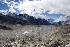 Khumbu Glacier Stock Photography