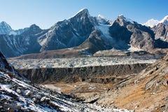 Khumbu glacier Stock Image