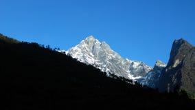 Khumbuen, Nepal Arkivbild