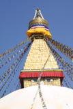 khumbunepal stupa Arkivbild