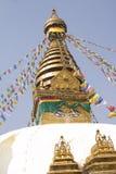 khumbunepal stupa Royaltyfria Foton