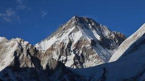 Khumbutse, alta montagna nella regione di Everest Fotografia Stock Libera da Diritti