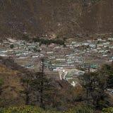 Khumjung Obraz Royalty Free