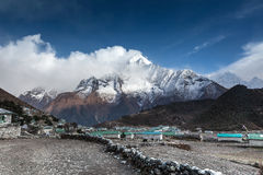 Khumjung. Trekking from Deboche to Khumjung Nepal Sagamatha National Park Royalty Free Stock Photography