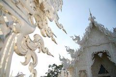 khun βόρειος rong ναός Ταϊλάνδη wat Στοκ Εικόνα