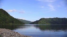 Khun Dan Prakan Chol Dam alla provincia di Nakhon Nayok, Tailandia video d archivio