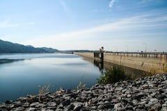 Khun Dan Prakan Chon Dam Royalty-vrije Stock Fotografie