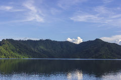 Khun Dan Prakan Chon Dam Royalty-vrije Stock Foto's