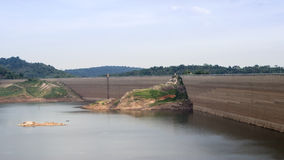 Khun Dan Prakan Chon dam, Nakhon Nayok, Thailand / dams to store Stock Photography