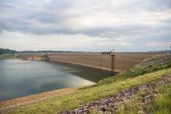 Khun Dan Prakan Chon dam, Nakhon Nayok, Thailand / dams to store. Water Stock Photography