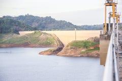 Khun Dan Prakan Chon dam, Nakhon Nayok, Thailand / dams to store Stock Photo