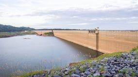 Khun Dan Prakan Chon dam, Nakhon Nayok, Thailand / dams to store. Water Stock Photos