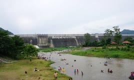 Khun dan prakan chon dam in Nakhon Nayok, Thailand Royalty Free Stock Images