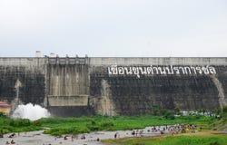 Khun dan prakan chon dam in Nakhon Nayok, Thailand Royalty Free Stock Photo