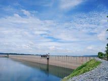 Khun Dan Prakan Chon Dam view Stock Images