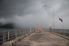 Khun Dan Prakarn Chon Dam royalty-vrije stock fotografie