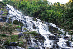 Khun-mae-ya waterfall Stock Photography