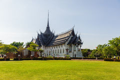 Khun Phaen House Stock Images