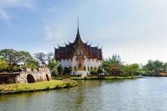 Khun Phaen hus Royaltyfria Foton