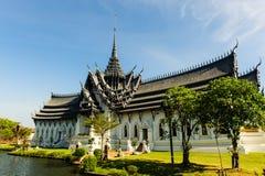 Khun Phaen hus Arkivbild