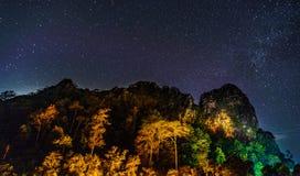 Khun Phawo park narodowy Zdjęcie Royalty Free