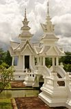 khun rhong sala泰国wat 免版税图库摄影