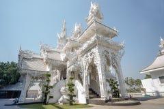khun rong寺庙wat白色 免版税库存照片