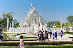 khun rong świątyni wat Zdjęcie Stock