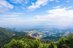 Khun Sathan krajobraz Zdjęcia Royalty Free