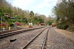 Khun Tan railway station Royalty Free Stock Photography