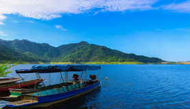 Khundanprakanchon dam Thailand Royalty Free Stock Photo