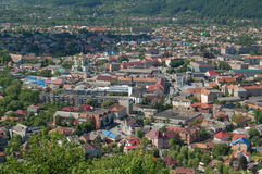Khust city Royalty Free Stock Images
