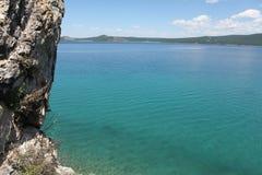 Khuvsgul sjö Royaltyfri Fotografi