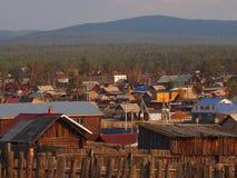 Khuzir by på solnedgången Fotografering för Bildbyråer