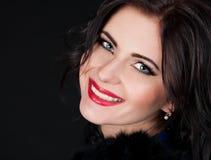 Khvitia_Julia. Face, blue eyes, smiling! Royalty Free Stock Photo