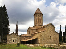 Khvtaeba church at the Ikalto (Iqalto) monastery. Kakheti. Georgia.  royalty free stock photography