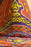Khyamia texture. Khyamia texure - khyamia is an Egyptian fabric use in celebration different occasions Royalty Free Stock Photo