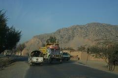 Khyber Pass in Pakistan Stock Photo